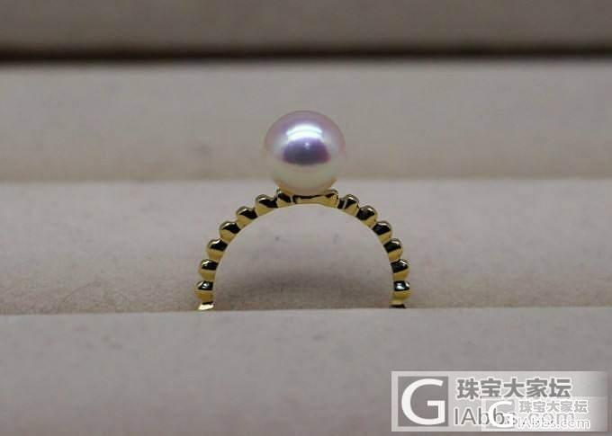 超美的AKOYA海水珍珠戒指 特价大溪地吊坠耳环 金珠戒指等_菲凡珍珠