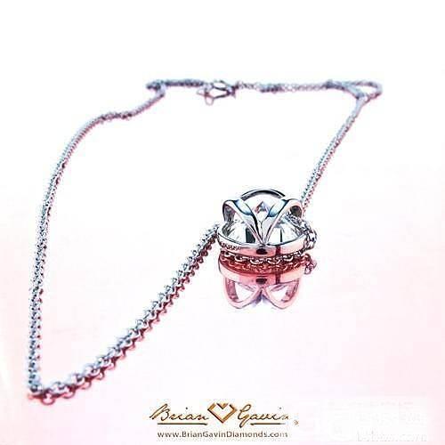 贡献一下包镶的耳钉吊坠款式_钻石