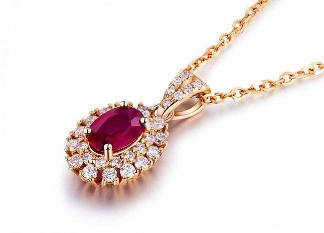 想要一套红宝石套装,戒指,项链,耳钉..._名贵宝石