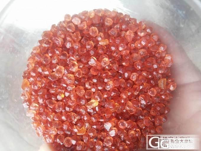 诚心求估价 锰铝榴石_石榴石刻面宝石