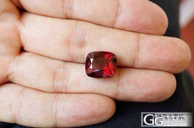 大家看看这个10ct的尖晶小六值不_尖晶石刻面宝石