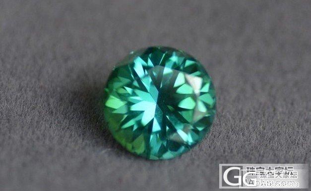 给大家发个宝石漏光的科普贴,有图对比..._宝石刻面宝石