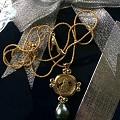 美凝家灯笼链配希希家的人鱼金币坠子,完美!