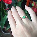 发个朋友刚刚镶嵌回来的戒指,唉,某人的这拍照技术来,哈哈